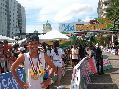 Emerson Maningo in Cebu City Marathon 2012