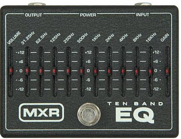 MXR 10-band graphic equalizer