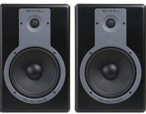 M-audio Bx8a reference monitor