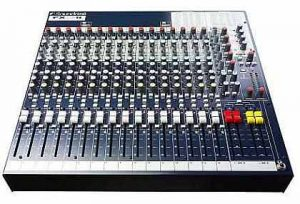 Sound mixer for home recording