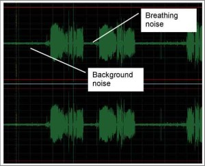 Noise in adobe audition