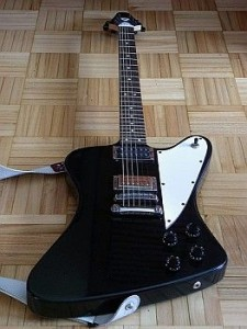 Picture of baritone guitar