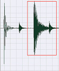 Original waveform uncompressed
