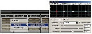 VST plugin in Notion 3 mixer