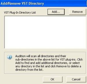 VST directory example