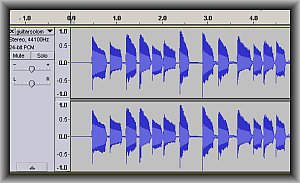 waveform of mp3