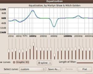audacity graphic equalizer screenshot