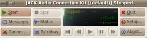 Jack audio server connection kit