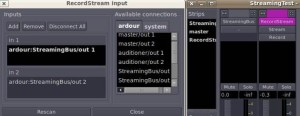 Configuring recording inputs in Ardour