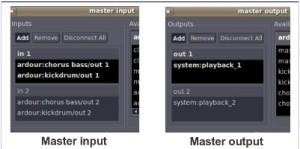 Master input output