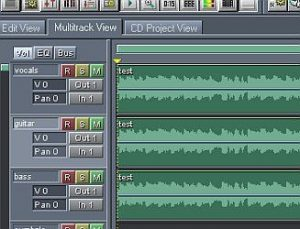 multitrack creation using other tracks