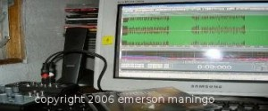 home studio digital audio workstation recording