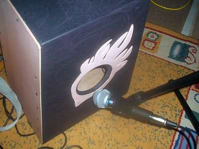Micing And Recording A Cajon Or Acoustic Percussion Drum