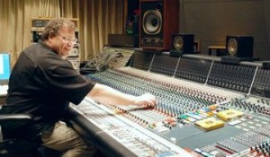 Neve console mixing