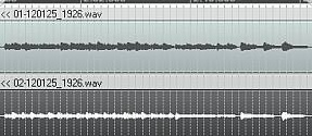 Recording levels of acoustic guitar