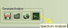 Right mark audio analyzer