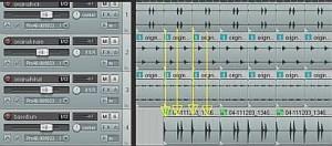 drum arrows