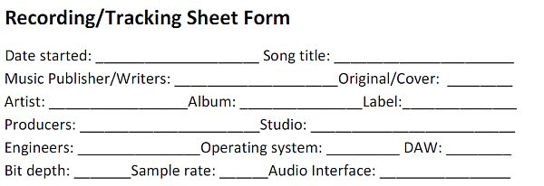 music production credits documentation in recording. Black Bedroom Furniture Sets. Home Design Ideas