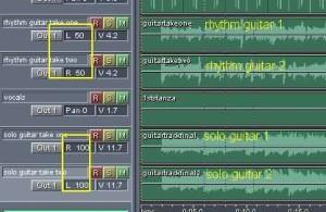 Guitar panning screenshot complete