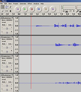 how to add audio files in audacity