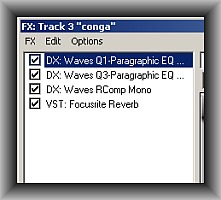 Conga FX chain