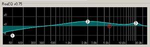 Reaper parametric EQ