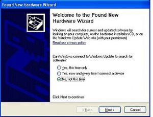 xp new hardware wizard