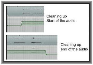 Clean up waveform