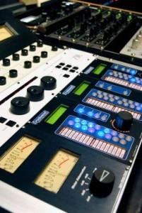 mastering console